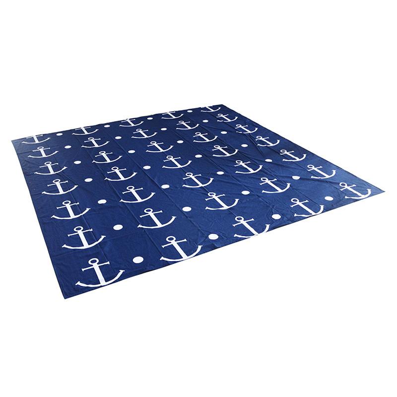 large OEM custom logo printing 100% cotton fabric beach towelfolding towel square