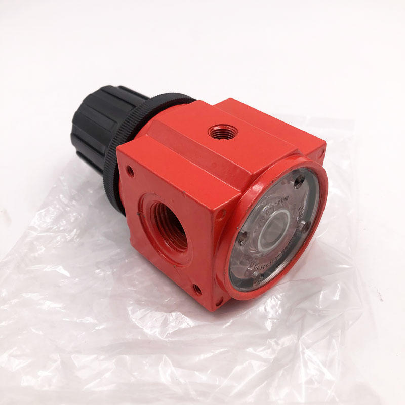 Pneumatic valve 395 red regulator air compressor pneumatic air regulator