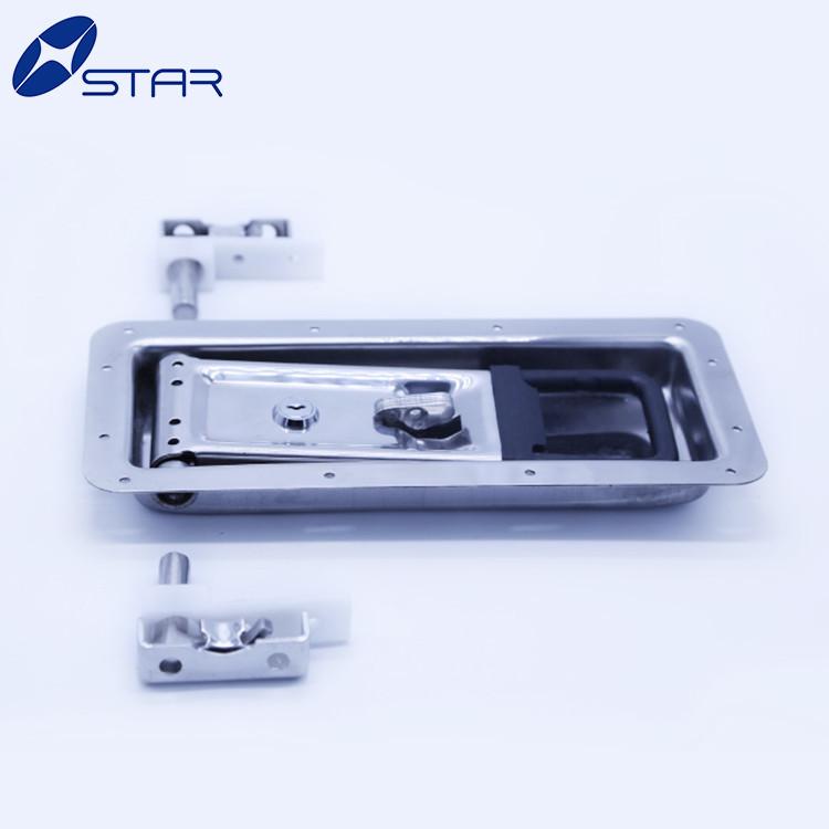 Stainless Steel Cargo Trailer Door Lock Truck Container Door Lock With Handle
