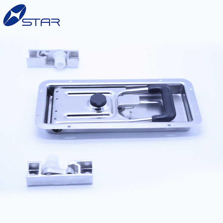 Truck Van Body container door lock parts with handle
