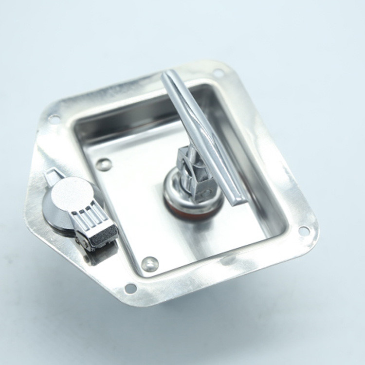 stainless steel paddledoor lock handle lock for truck