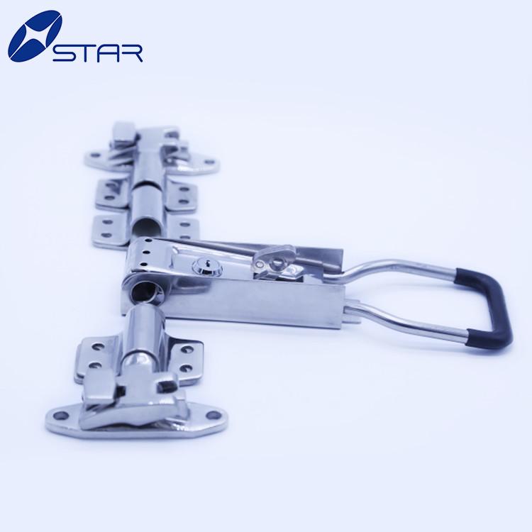 Wholesales stainless steel external lock set truck container door lock