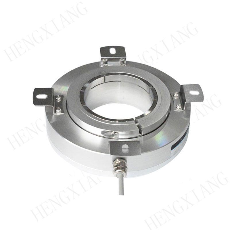new sealed angle encoder large through hole high resolution K158 angular rotary encoder for motion control machining