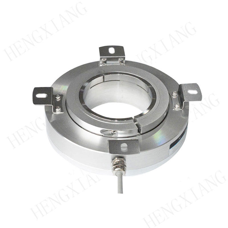 new sealed angle encoder large through hole high resolution K158 angular rotary encoder for motion control machining