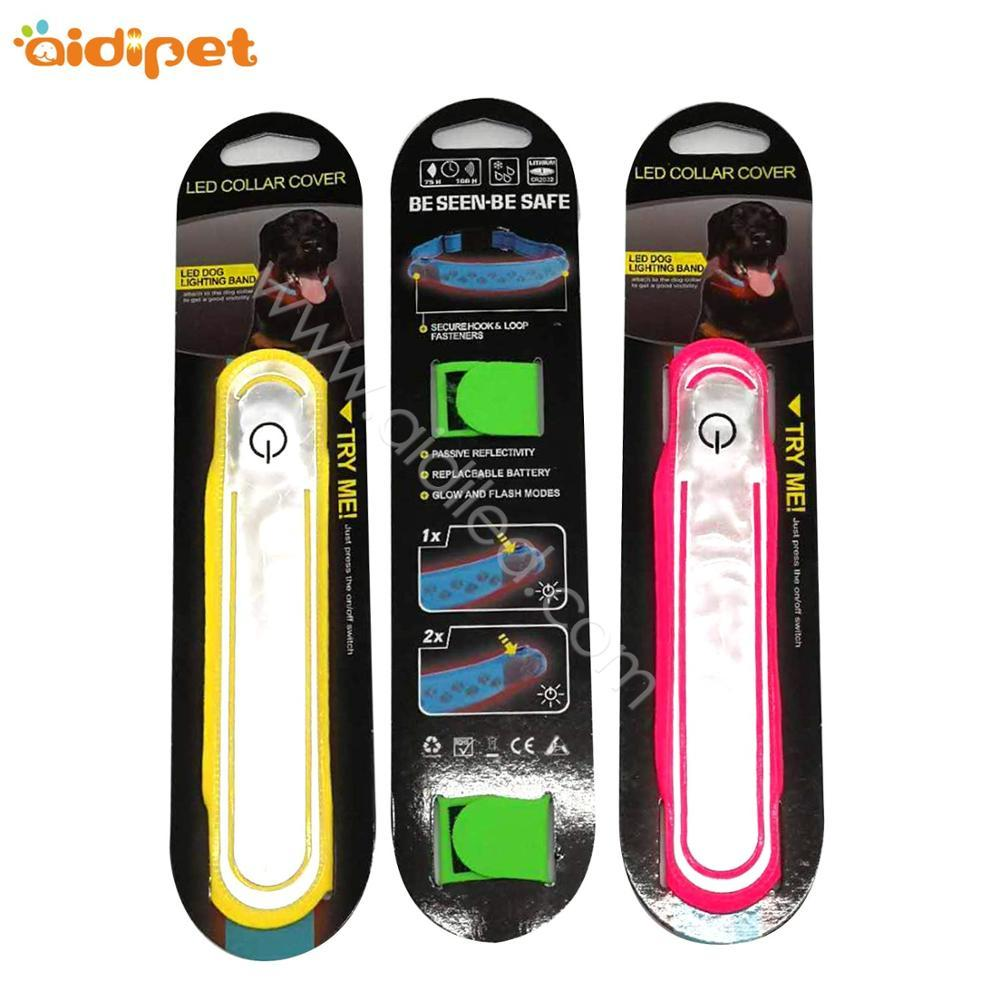 Cheap Night Reflective Safety Pet Training LED Dog Collar