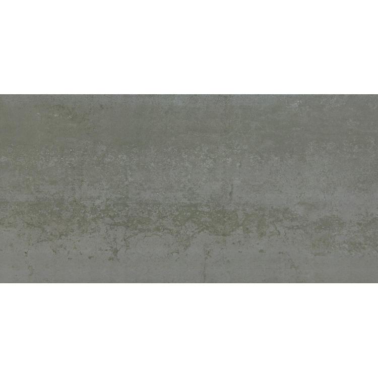 Rusty metal colour floor tiles in villa
