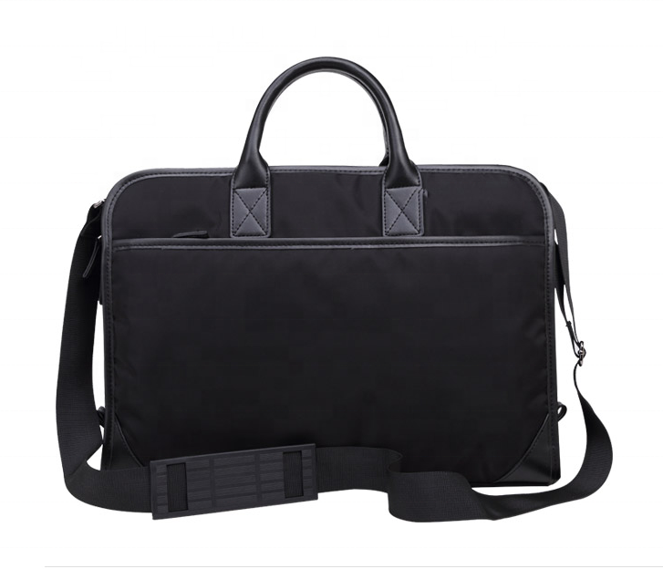 Top Quality Poly Waterproof men big Briefcases business laptop shoulder bag classic Satchel removable handbags for Men wholesale