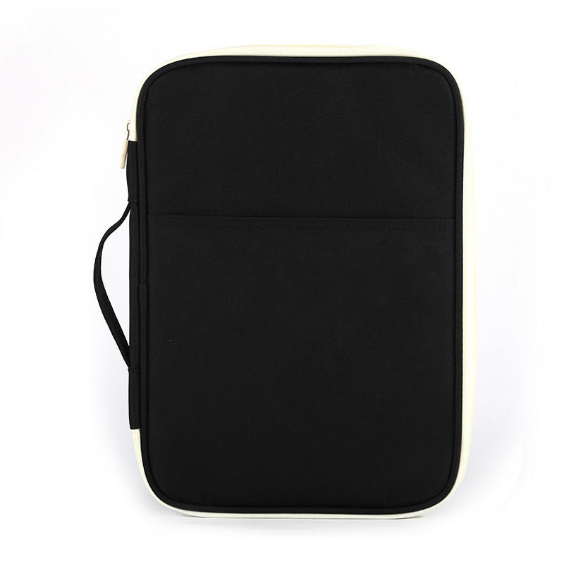 Waterproof Oxford cloth laptop briefcase ballpoint pen multifunctional A4 file bag business office supplies