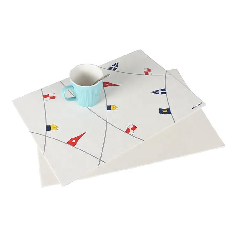 2020 Eco-friendly Customized Wholesale Vinyl Placemats Pvc Table Placemat