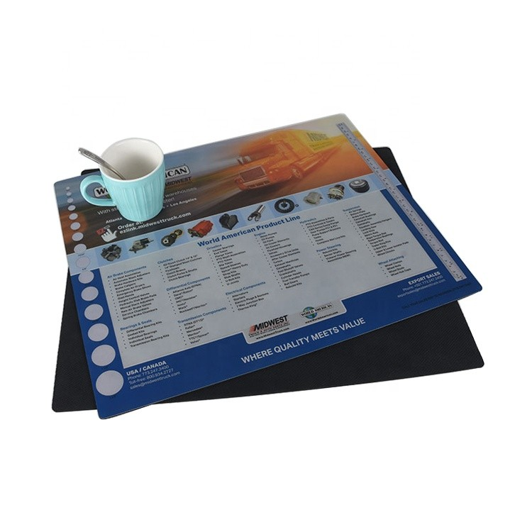 High Quality Eva Non-slip Esd Rubber Table Mat Drawer Mat Dining Table Mat