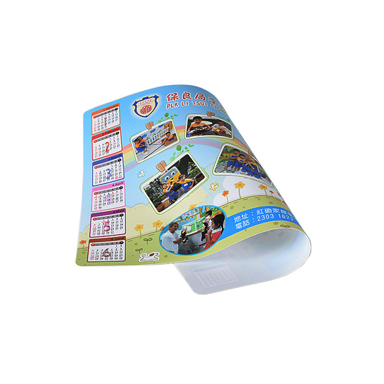 Factory Directly Custom Logo Full Color Printing Best Cheap PP Placemat