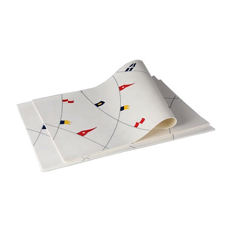 Custom Soft PVC Foam Material Pantone Printing Counter Mat