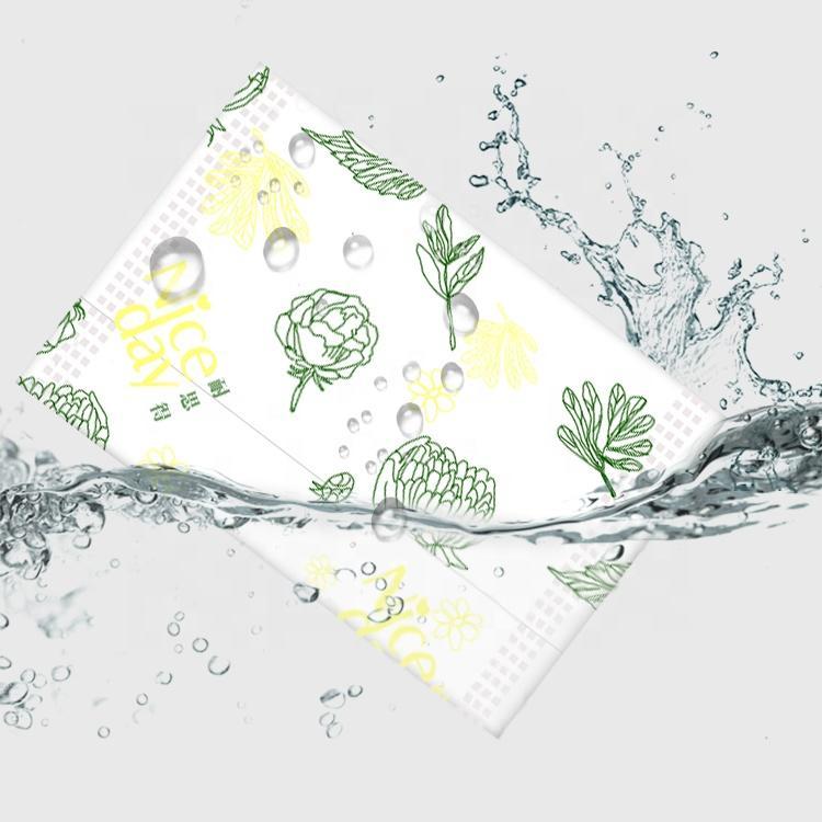 Aluminum film packaging Herbal Sanitary Pads natural cotton private sanitary pads woman napkin