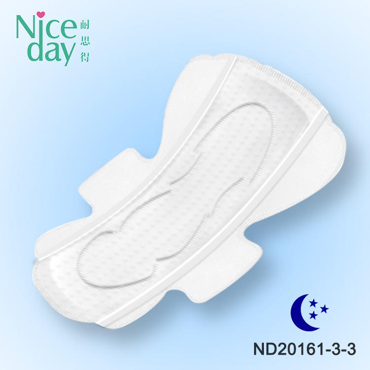 High absorption feminine hygiene products non woven sanitary napkins breathable cotton sleeping ladies sanitary pads