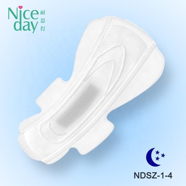 Deeply sleeping cold mint herbal sanitary pads lower price stock lot sanitary pad
