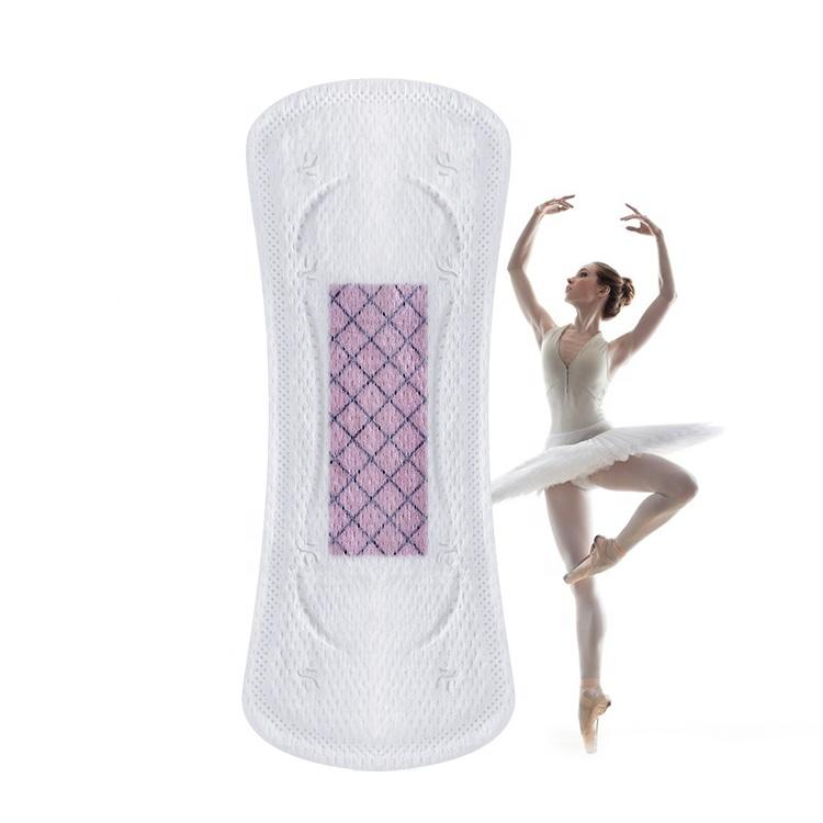 Mini Pads Good Quality Panty Liners Custom Graphene Chip Panty Liner Brand Breathable Wingless Cotton