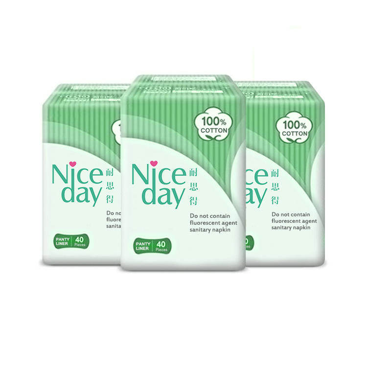 Competitive Price anion Panty Liner with high quality cotton maternity pads Manufacturer