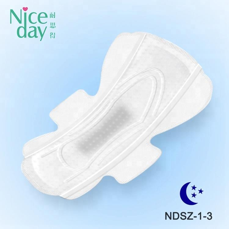 Thin style sanitary pad tin boxes High quality herbal sanitary napkin for swimming with good price