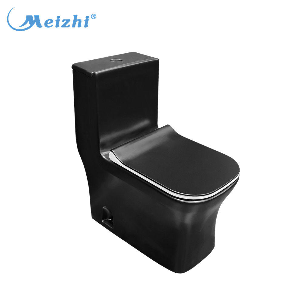 Bathroom tornado flush matte black toilet bowl for sale