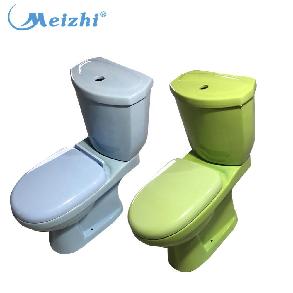 Made in China sanitario green colored toilets for sale