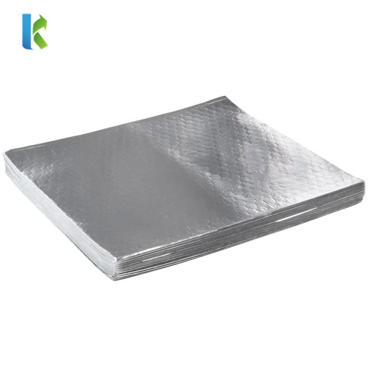 Custom Printed Insulated Foil Sandwich Wrap Sheets for Heat Food Wrappers