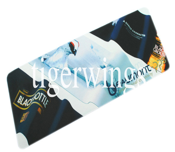 custom logo Hot selling large blank rubber bar mat runner sublimation beer mat with low price