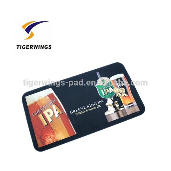 soft pvc bar runner,rubber beer /bar mats,custom rubber bar mat