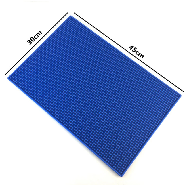 Tigerwings Soft PVC Rubber Bar Mat for Beer and Drink Promotion & OEM 3D Logo Custom Rubber Bar Mat