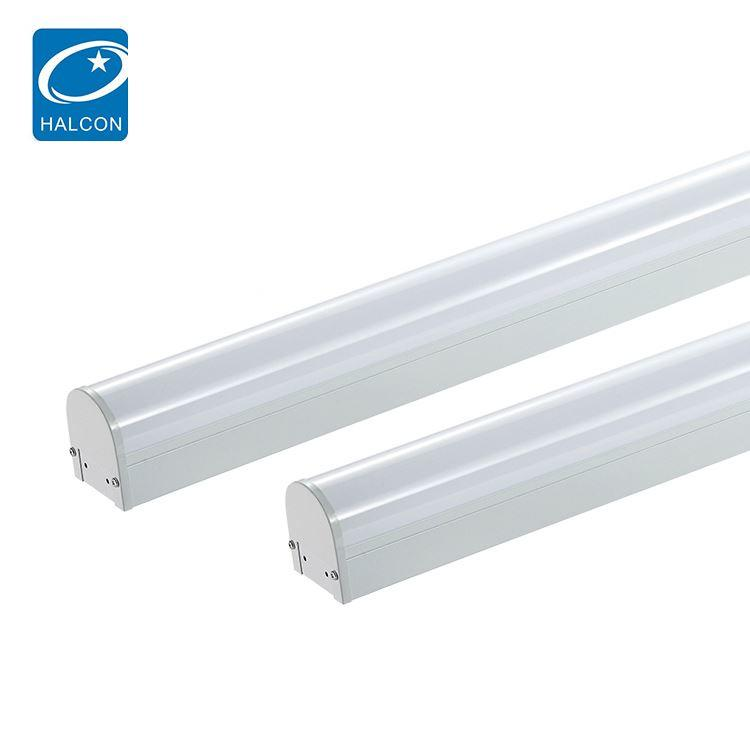 New design slim AC 2ft 4ft 8ft 18w 24w 36w 42w 68w linear led batten light