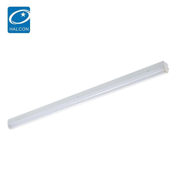 Quality supplier plastic 2ft 4ft 5ft 6ft 13 20 30 40 45 50 60 w linear led batten strip lamp