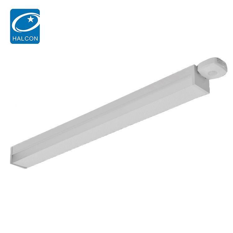 prismatic lens commercial stairwell lighting fixtures corridor 2ft 4ft led wraparound light