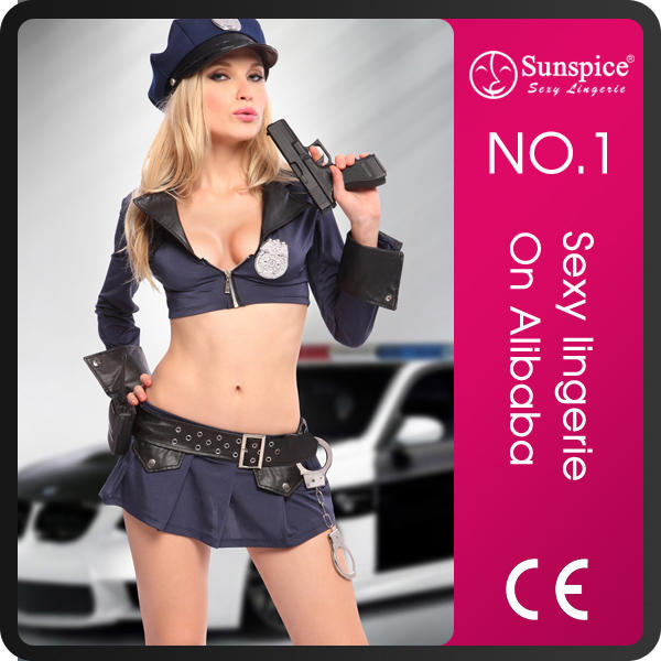 Sunspice hot sale fashion style sexy police girl uniform