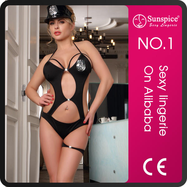 Sunspice best selling sexy women police costume for women