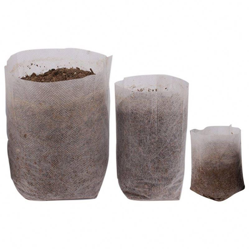 Agricultural PP non-woven fabric seedling bag customized plant nursery bag for agriculture