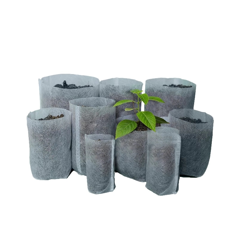 Factory supplier agricultural PP non-woven seedling bags for planting