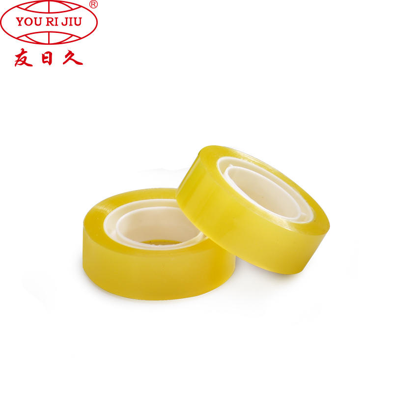 StationarySuper ClearTape with BOPP Adhesive Bopp for carton sealing
