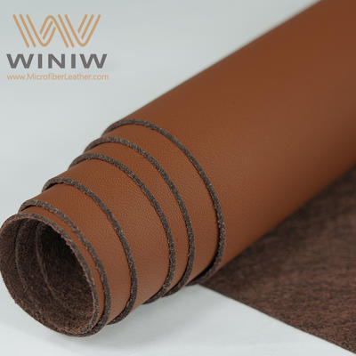 Eco Faux Nappa Leather For Auto Upholstery Material Supplier