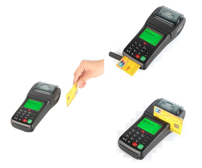 10% OFF Handheld GPRS SMS Mobile Payment Portable Billing Machine with Thermal Receipt Printer