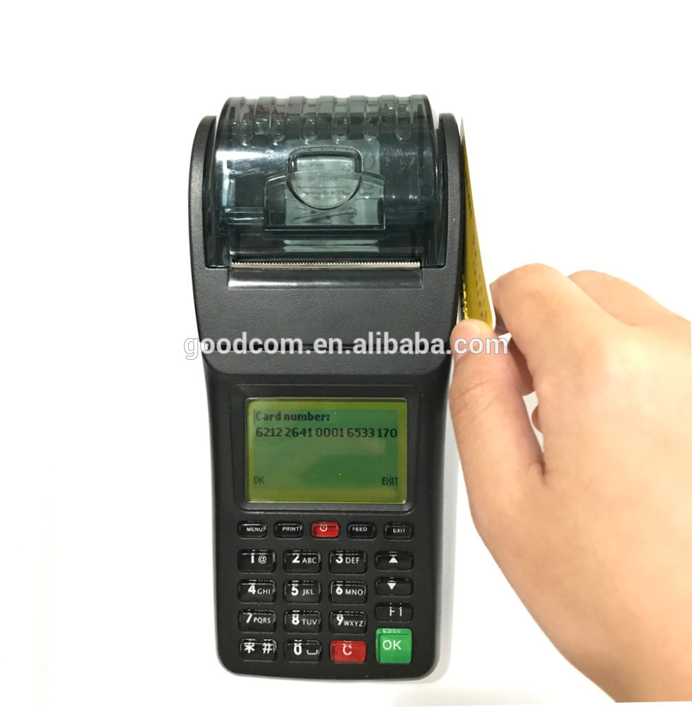 New Customizable POS Terminal with POS software Handheld Thermal Printer supports NFC/ID/Magnectic Card reader for loyalty