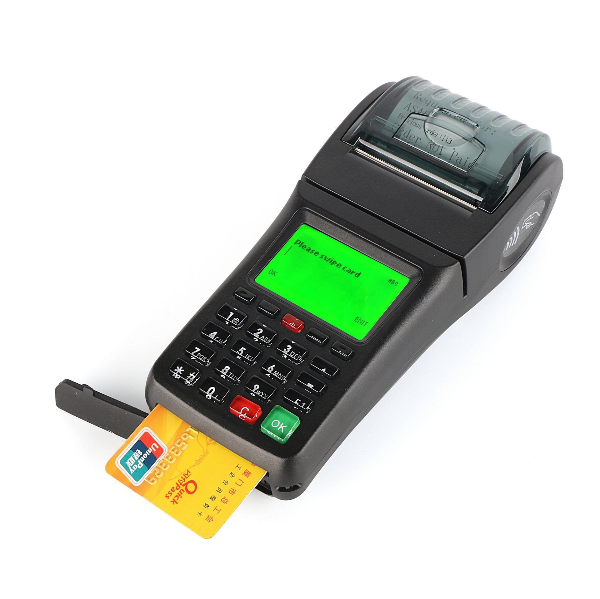 Handheld NFC, RFID, Smart Card, Magnetic Card Reader POS Ticket Terminal