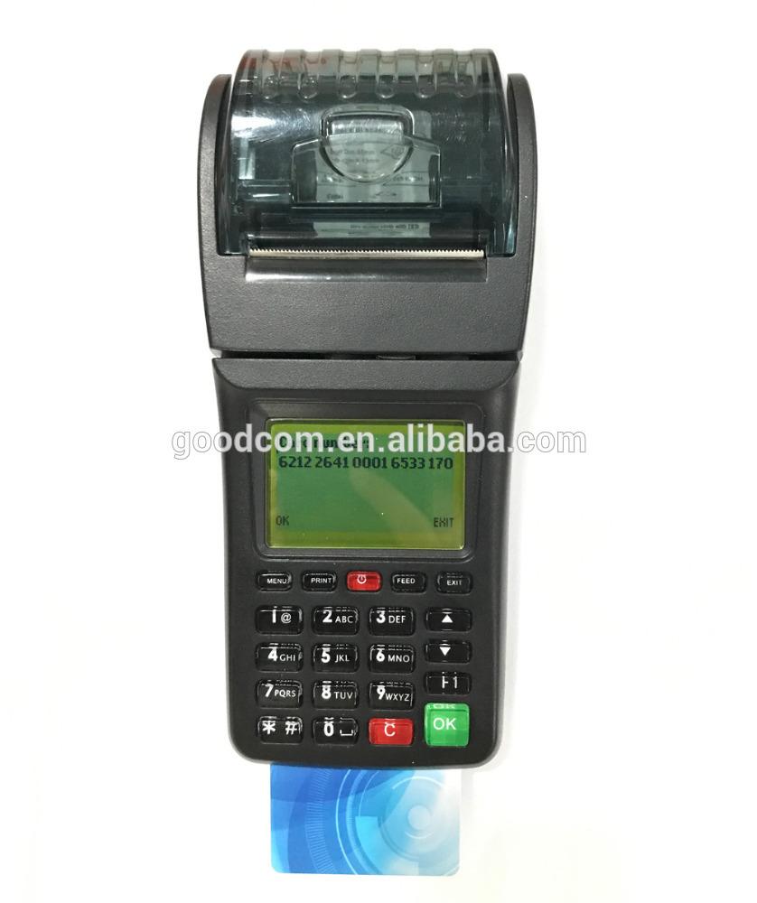 GOODCOM Handheld POS Terminal with NFC reader Mobile Recharge Machine