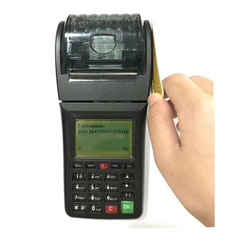 Hot Sell Handheld GPRS Mobile POS Terminal with NFC RFID Card Reader