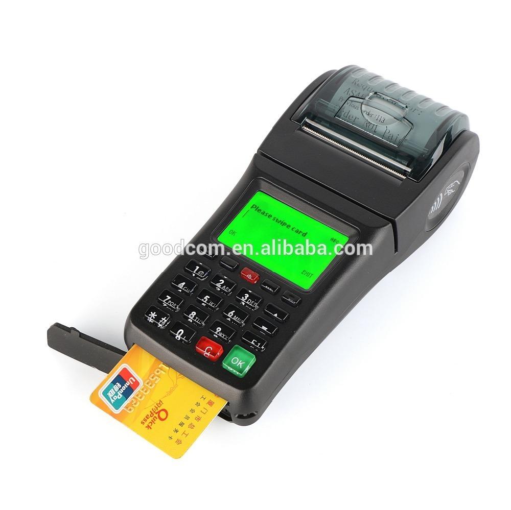 GOODCOM GT6000SA Handheld Card Read Bill Payment Machine for E-Voucher Solutions