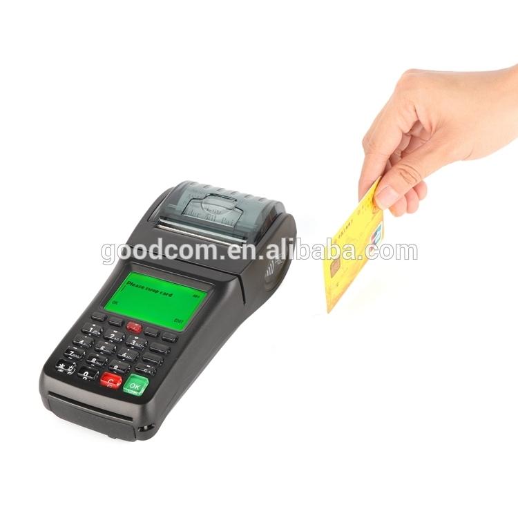 GOODCOM GT6000SA Handheld GSM Pos Smart Card Reader Pos Terminal For Lottery Business