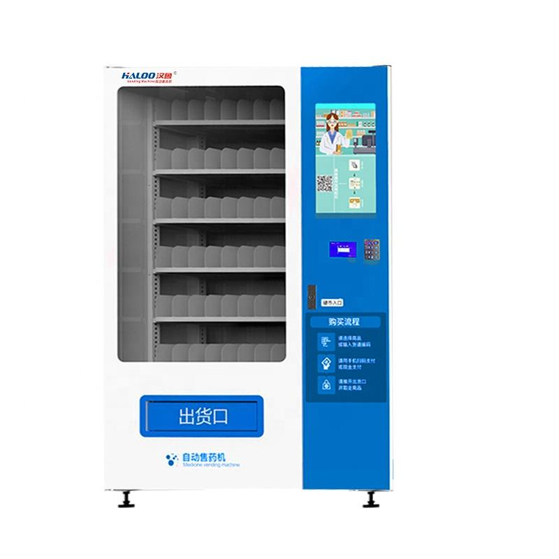 Drug vending machine and medicine vending machine with adult products