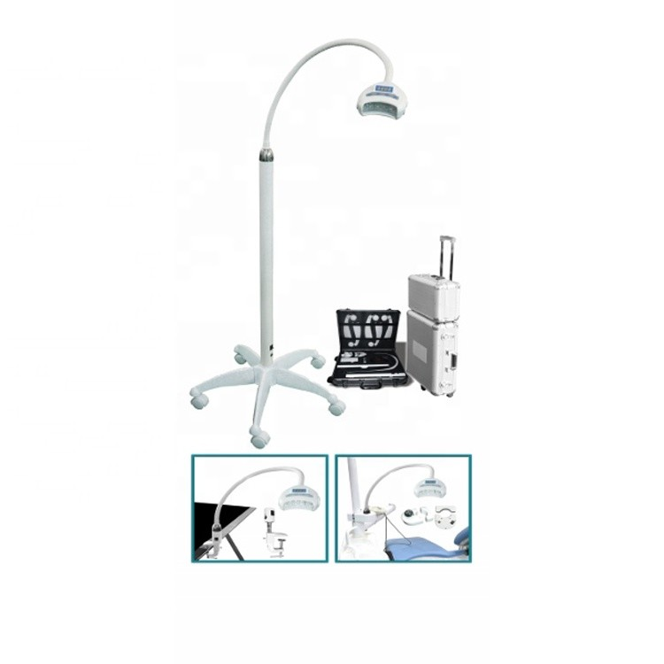 CE approved aluminum case packing tooth whitening lamp