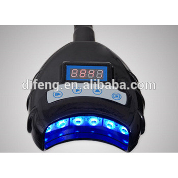 CE approved portable desktop teeth whitening light for professional teeth whitening treatment