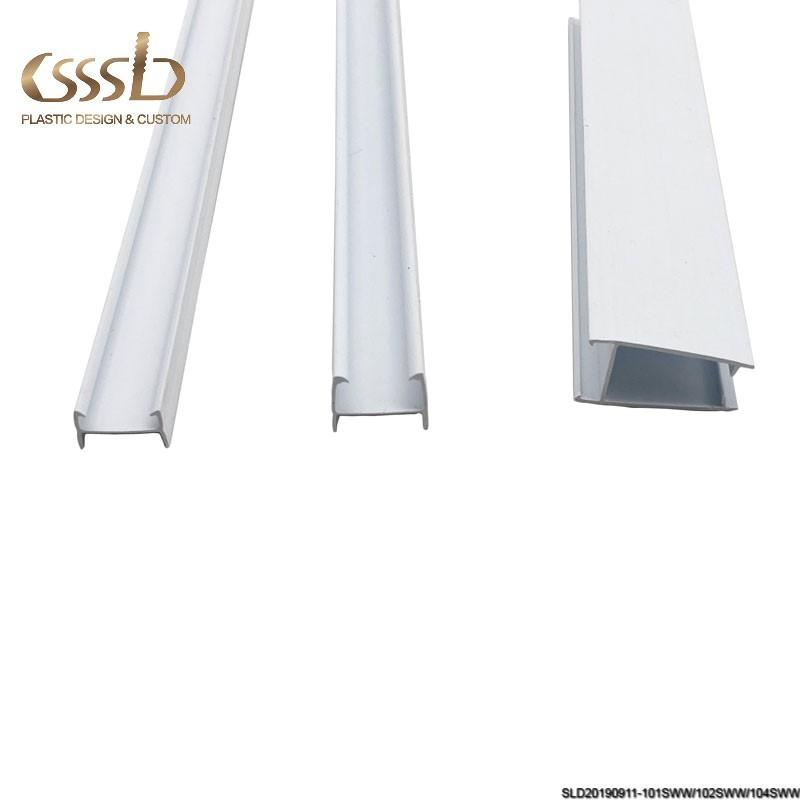 PVC profile for refrigerator component glass door