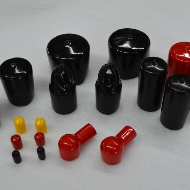 Custom Plastic End Cap / Plastic Cap for Packing tube/ vinyl cap