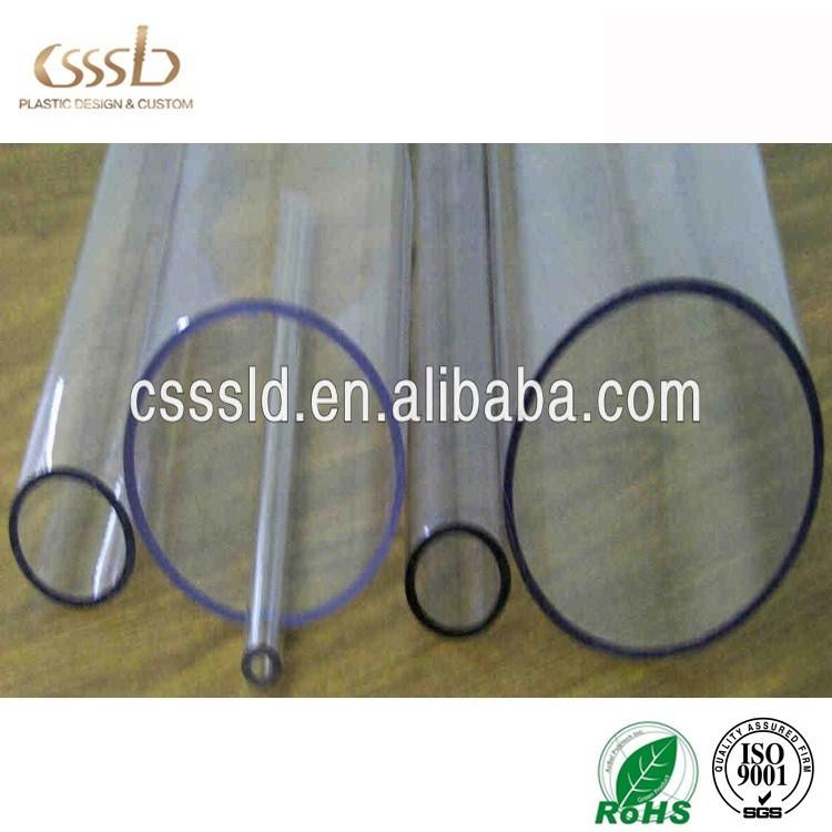 cast acrylic tubing/ plastic water pipe/ plexiglass sheets